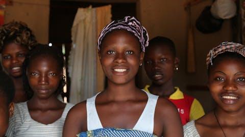 GirlPower Benin werk