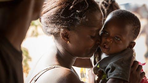 GirlPower Liberia moeder en kind