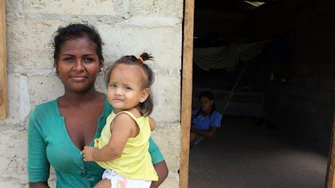 GirlPower Nicaragua moeder en kind