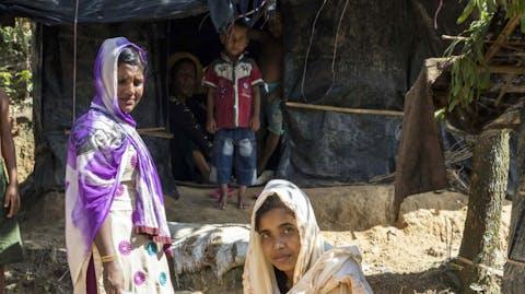 Zuiver water Bangladesh Rohingya kraan