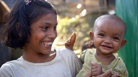 Rohingya kinderen