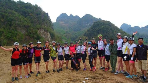 Cycle for Plan Vietnam blog