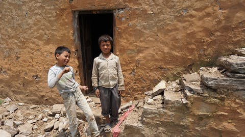 Giro555 aardbeving Nepal