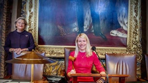 Girl Takeovers Ankie Broekers-Knol, Voorzitter Eerste Kamer