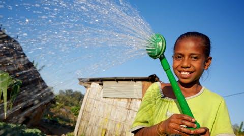 water en sanitaire voorzieningen in timor