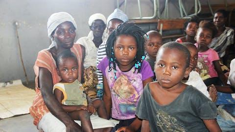 Noodhulp kinderen orkaan Idai