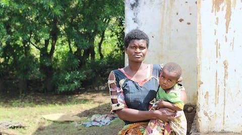 Slachtoffer orkaan Idai in Malawi