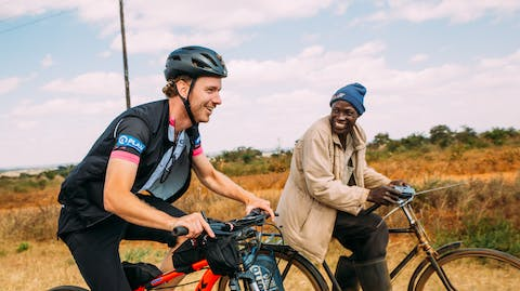Cycle for Plan Malawi sponsor fietstocht