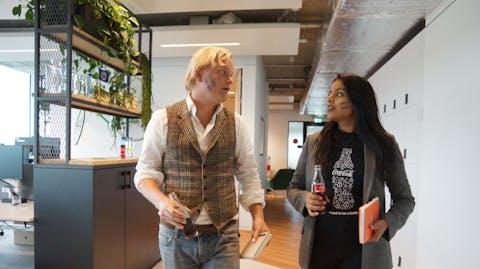 Wereldmeisjesdag Gijs Brons, CocaCola Nederland
