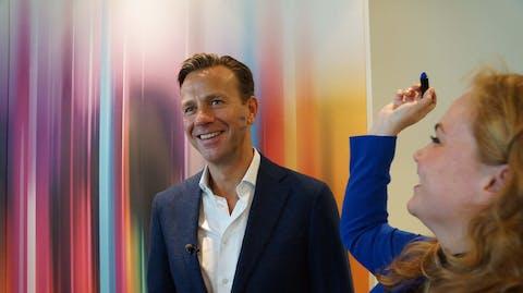 Sven Sauvé, CEO van RTL, Wereldmeisjesdag