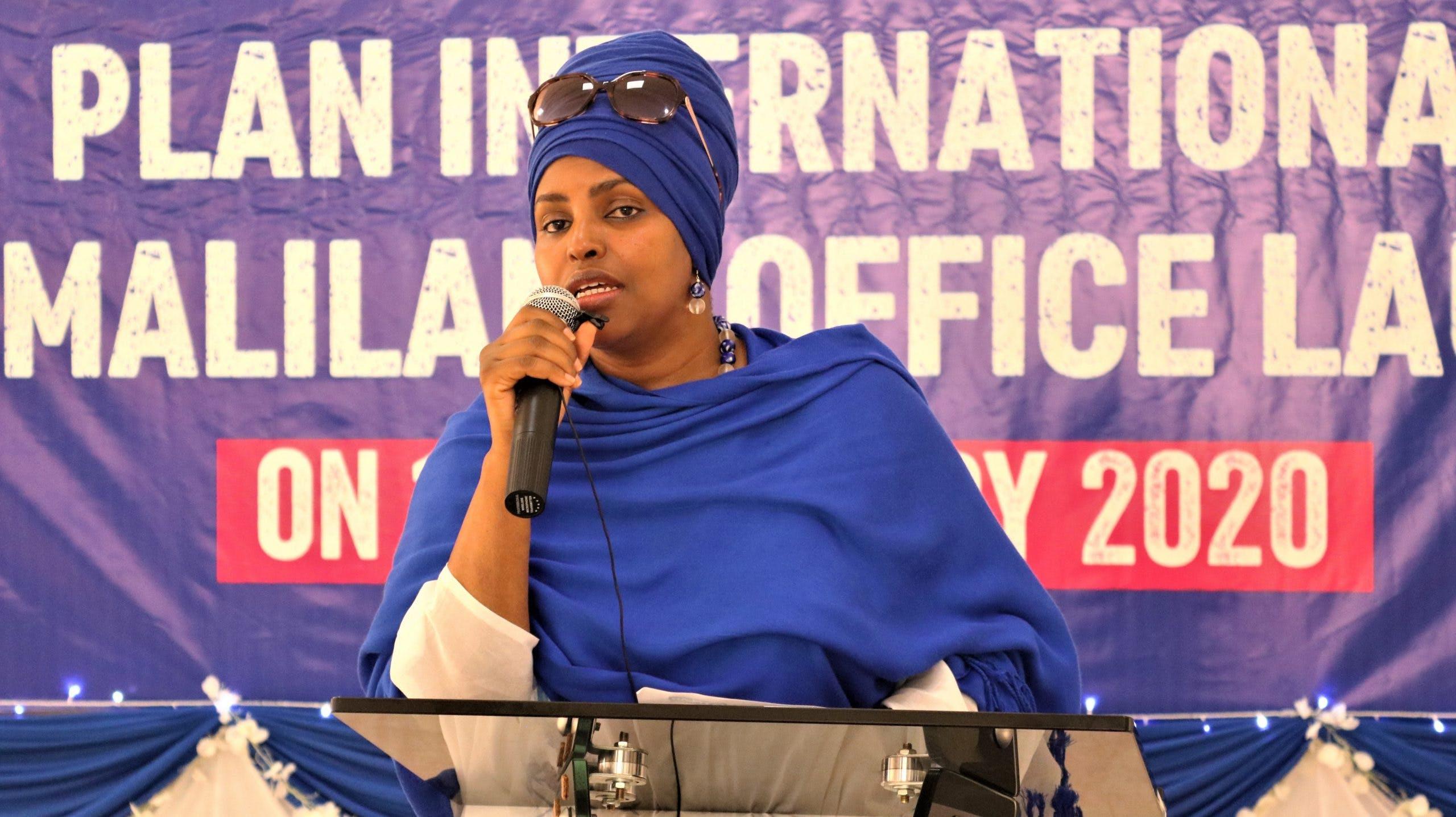 Sadia Allin van Plan International Somalië