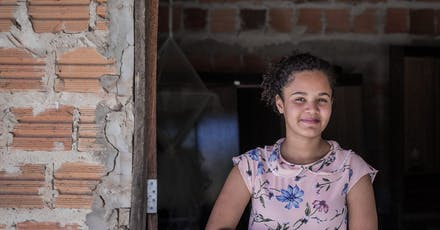 Sanmya sponsorkind Brazilië project