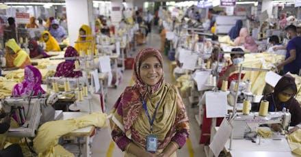 betere positie voor vrouwen in de kledingindustrie