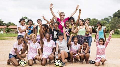 voetbalmeisjes la league